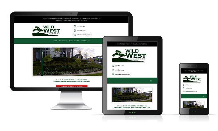 Wild West Gardens Website