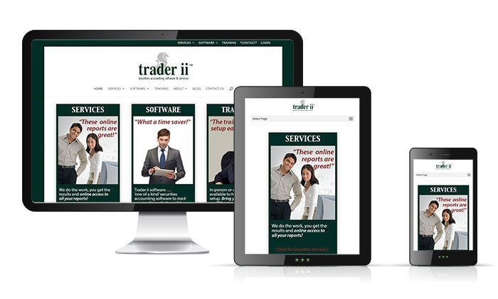 Trader ii Website