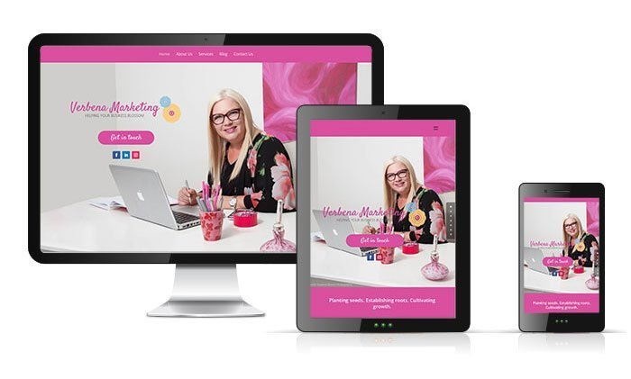 Verbena Marketing Website