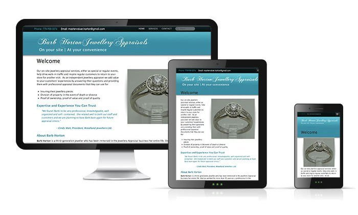 Barb Horton Jewellery Appraisals Website