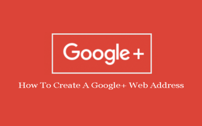 How To Create A Google+ Web Address For Your Page Or Profile