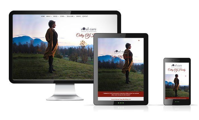 Website for Cathy AJ Hardy