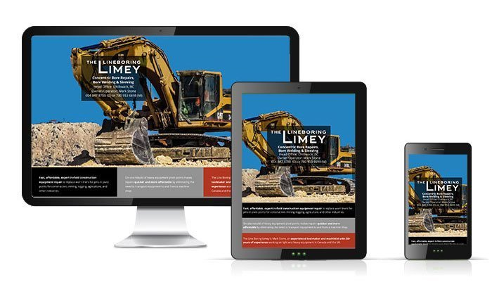 Website for The Lineboring Limey