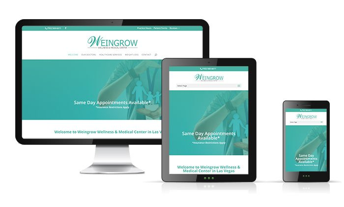 Weingrow Wellness WordPress Responsive Website Image